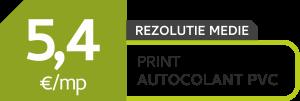 outdoor - autocolant PVC